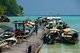 Thailand: Boat pier at Ko Surin Nua, Surin Islands Marine National Park