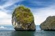 Thailand: Rock formations on the western side of Ko Phi Phi Don, Ko Phi Phi
